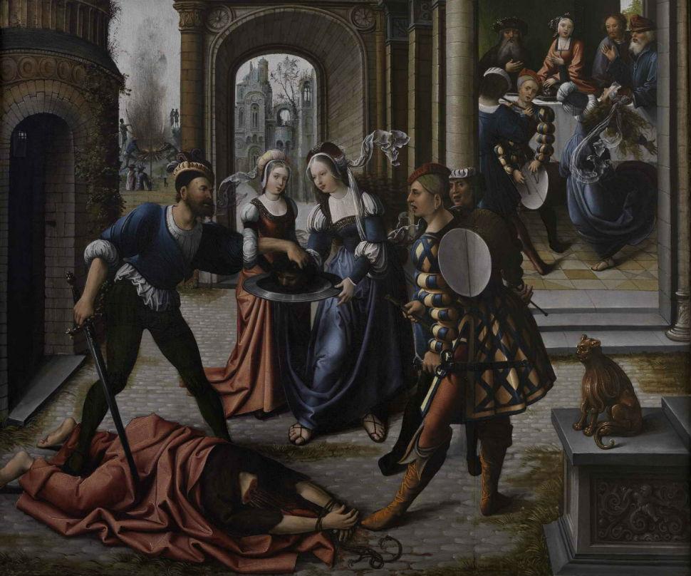13-Мученичество Святого Иоанна Крестителя - 1519.jpg