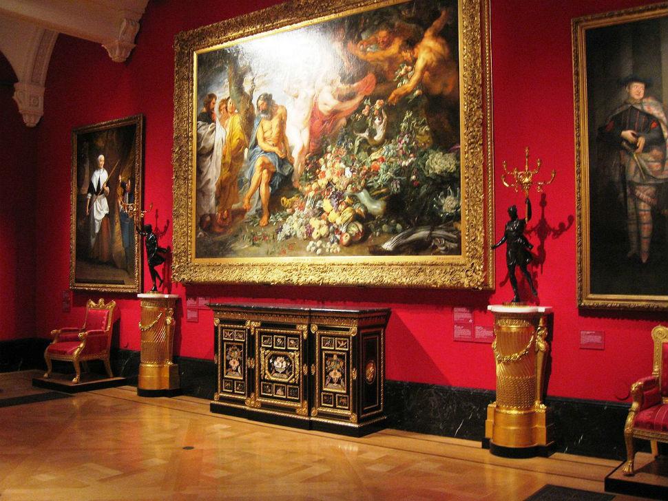 1-Королевская галерея - Питер Пауль Рубенс - Пифагор выступающий за вегетарианство.jpg