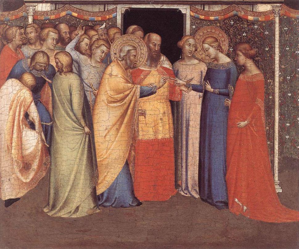2-Бернардо Дадди - Брак Богородицы - 1330-1342.jpg