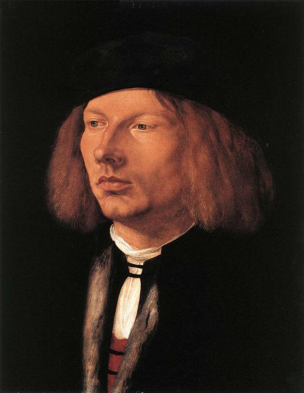 5-Альбрехт Дюрер - Портрет Буркарда фон Шпейера - 1506.jpg
