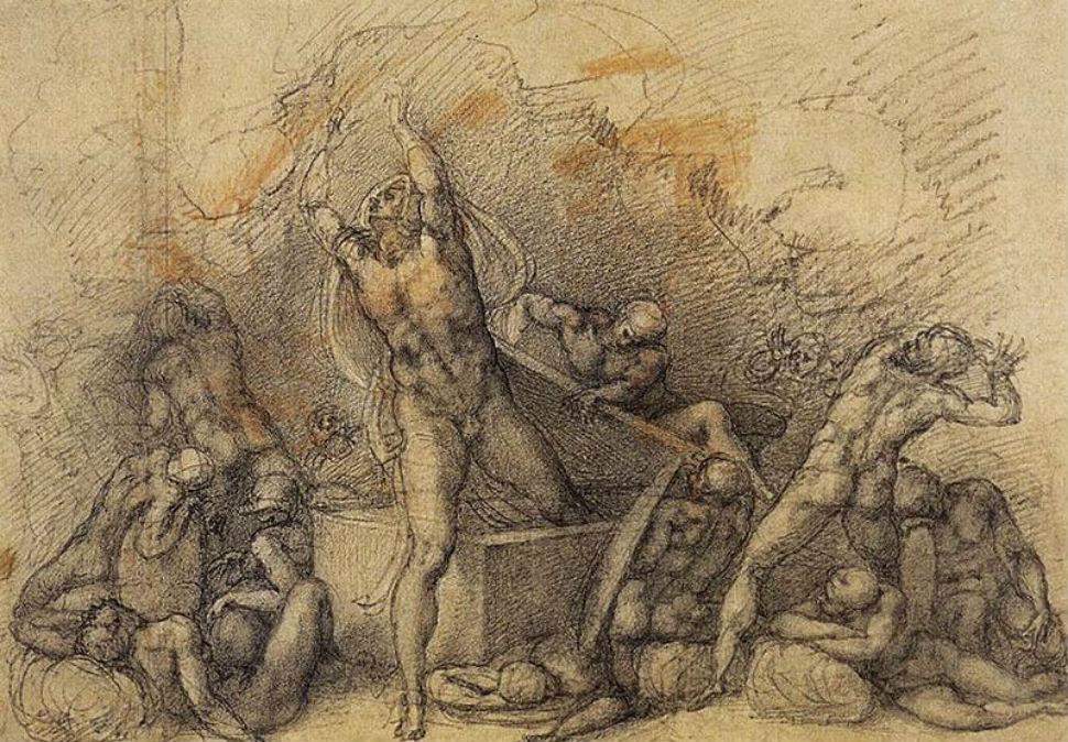 8-Микеланджело - Воскресения - 1532.jpg