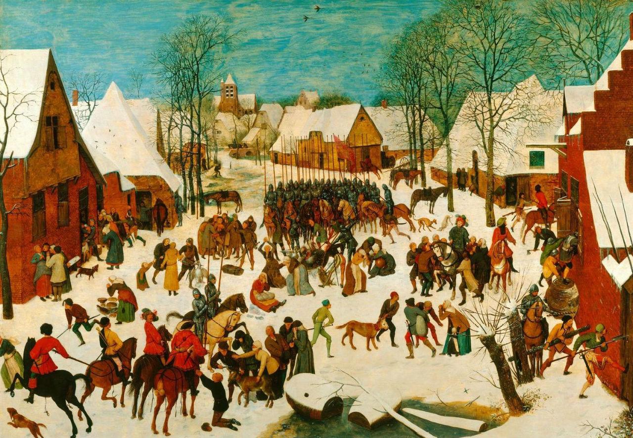 11-Питер Брейгель Старший - Избиение младенцев - 1565-1567.JPG