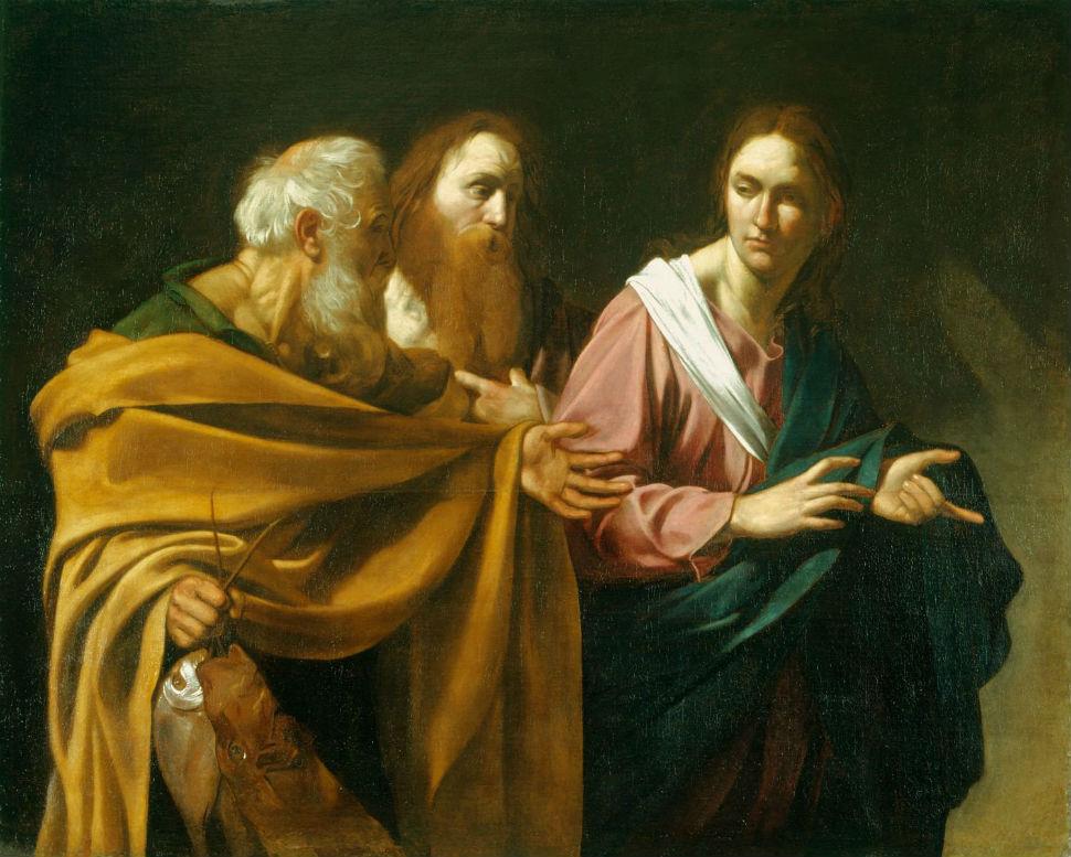 12-Караваджо - Призвание святых апостолов Петра и Андрея - 1571-1610.jpg