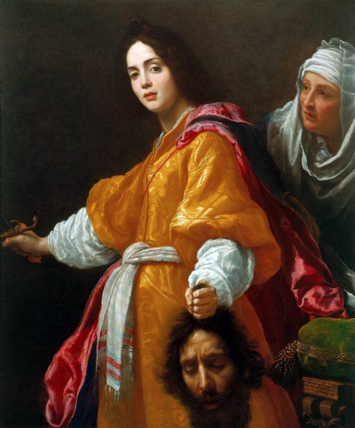 15-Алессандро Аллори - Юдифь с головой Олоферна - 1613.jpg