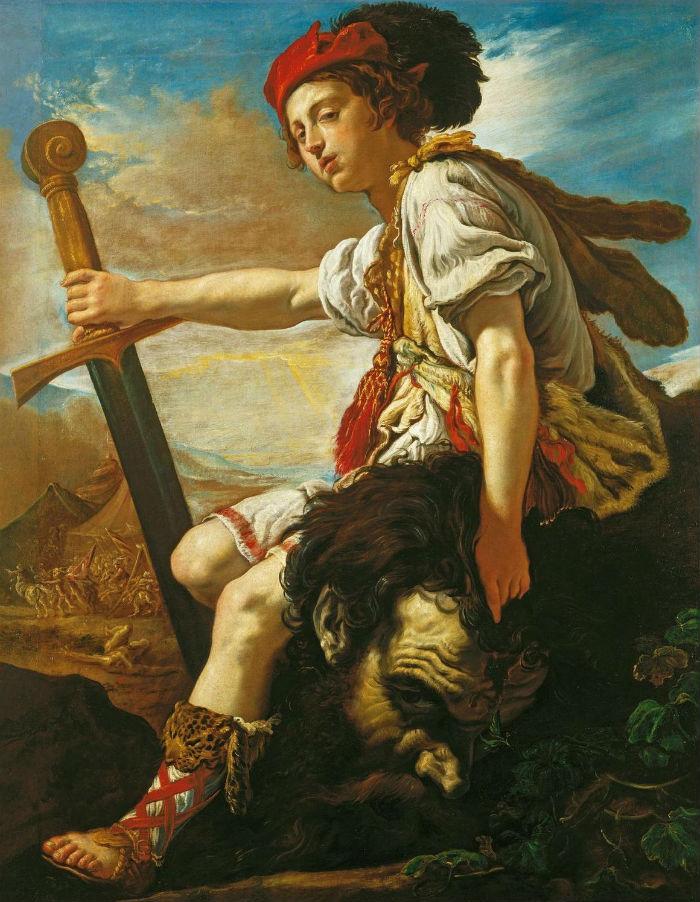 17-Доменико Фетти - Давид с головой Голиафа  - 1620.JPG
