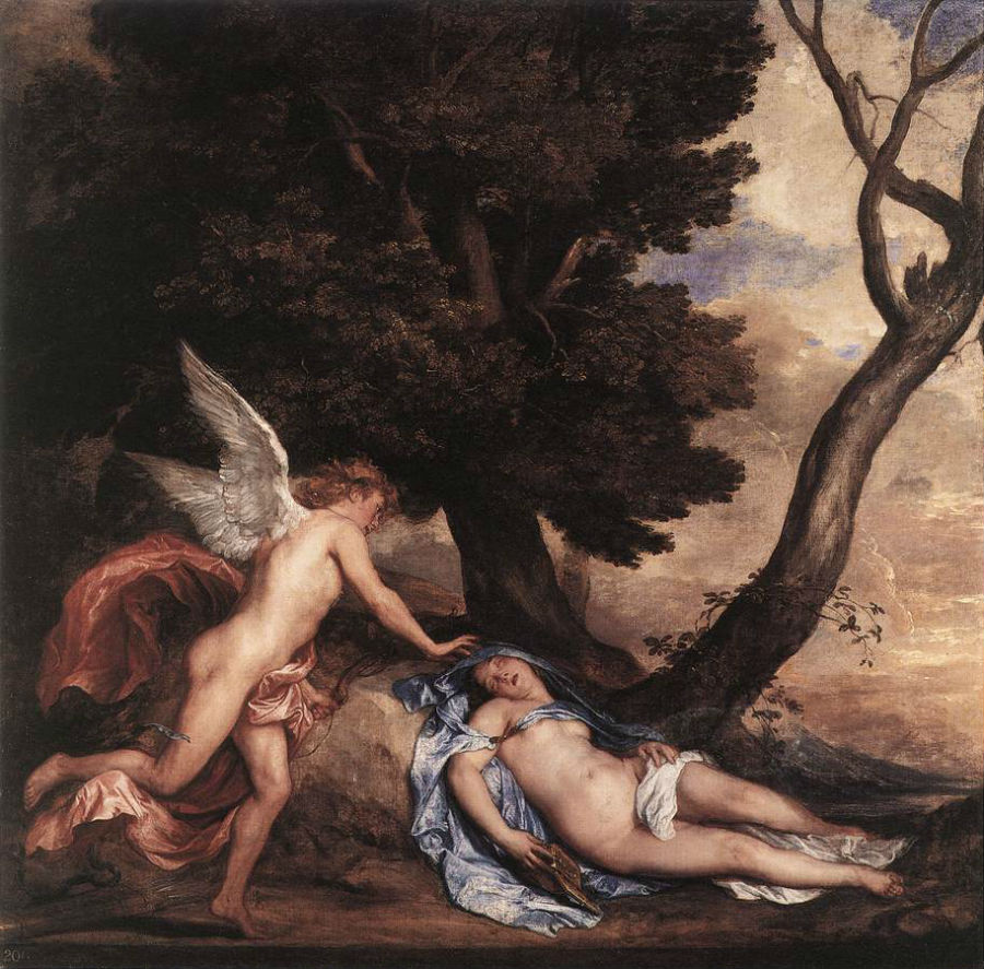 19-Антонис Ван Дейк - Амур и Психея - 1639-1640.jpg