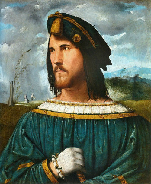 Альтобелло Мелоне - Портрет дворянина - 1500-1524 - предполагаемый портрет Чезаре Борджиа (Галерея Академии Каррары Бергамо).jpg