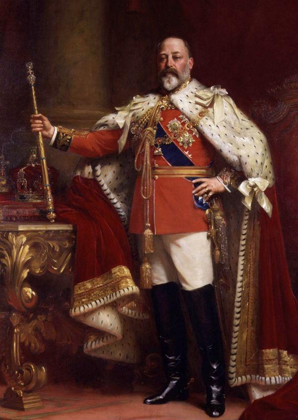 12-Сэмюэль Люк Филдс - Портрет Эдуарда VII (1841-1910).jpg