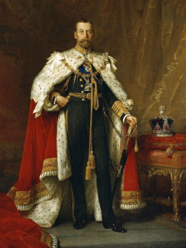 13-Сюмюэль Люк Филдс - Портрет короля Георга V (1865-1936).jpg