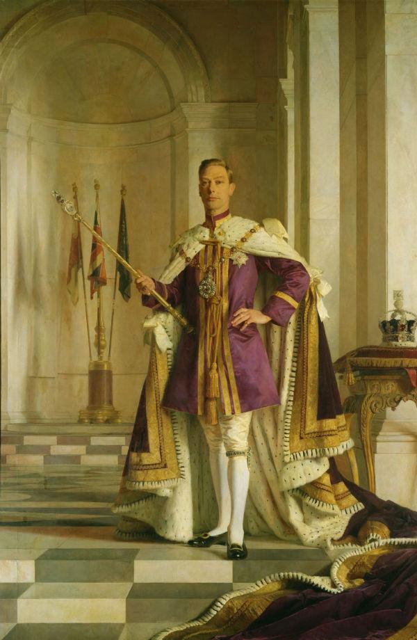 3-Сэр Джеральд Келли - Король Георг VI (1895-1952) - 1938 -1945.jpg