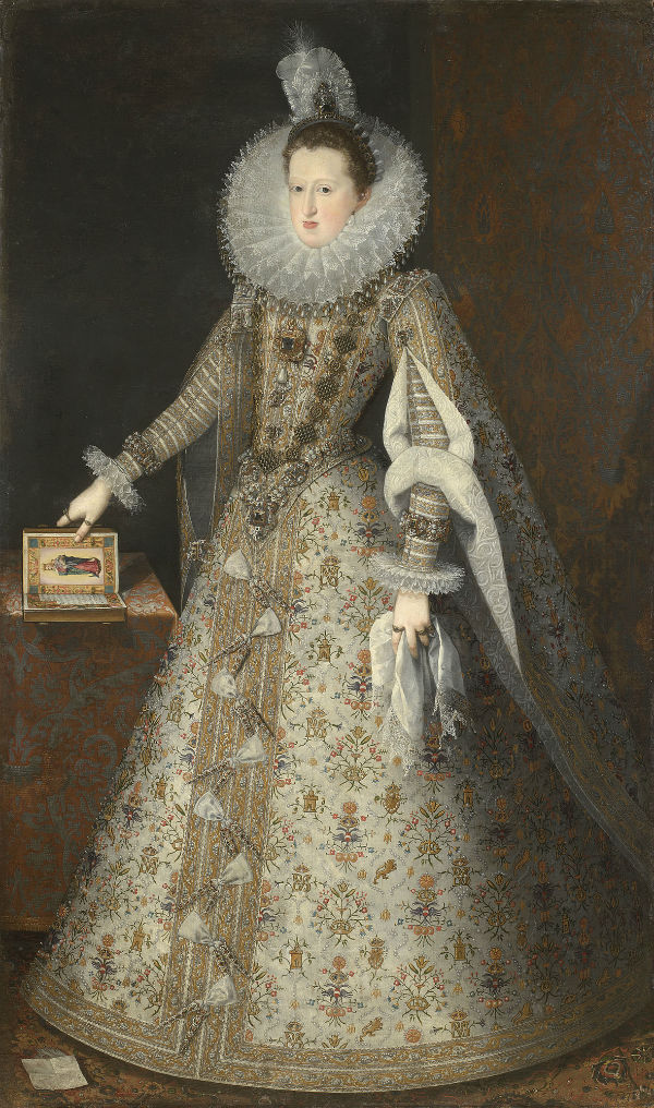 3-Хуан Пантоха де ла Крус - Маргарита Австрийская - жена короля Испании Филиппа III.jpg