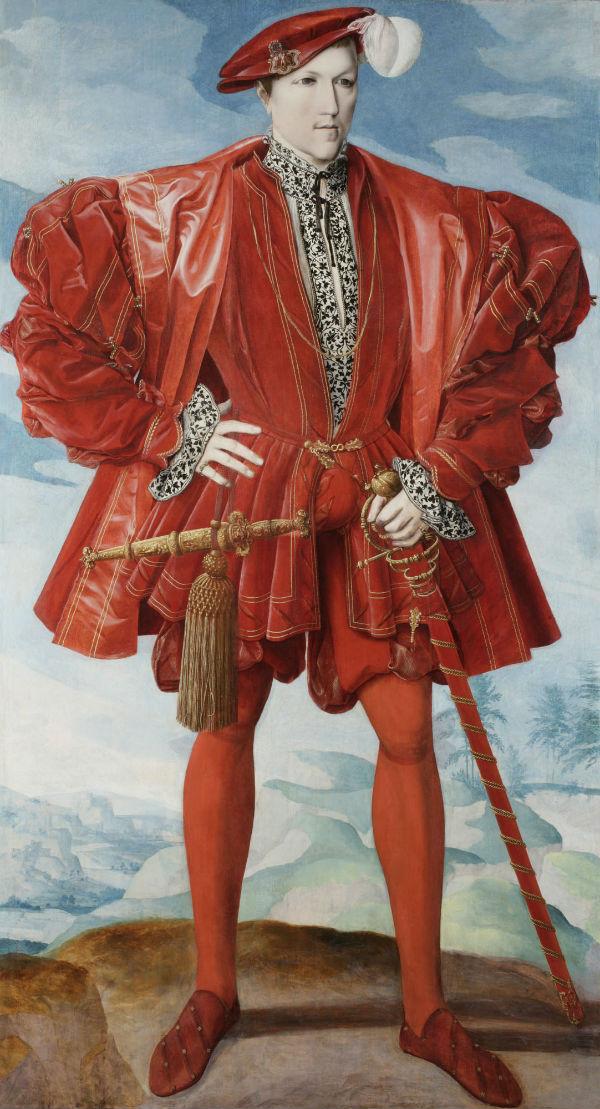 4-Немецкая или нидерландская школа - Портрет мужчины в красном.jpg