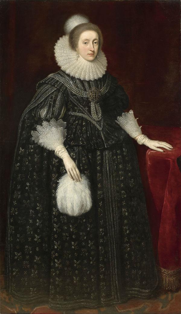 8-Даниэль Мийтенс - Елизавета королева Богемии.jpg