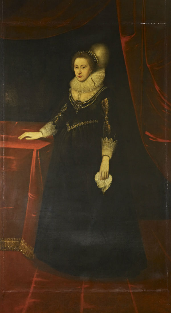 14-Последователь Михеля Янса ван  - Елизавета королева Богемии.jpg
