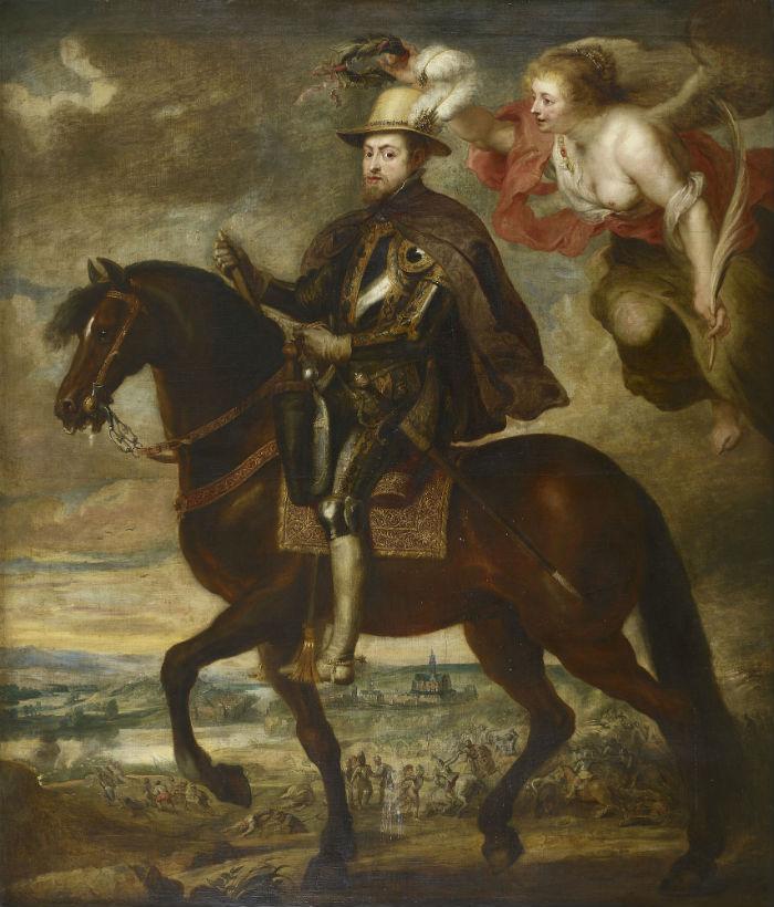 17-Мастерская Питера Пауля Рубенса - Король Испании Филипп II.jpg