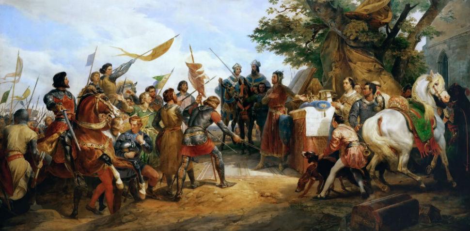 1-Орас Верне - Перед Битвой при Бувине 27 июля 1214 года.jpg