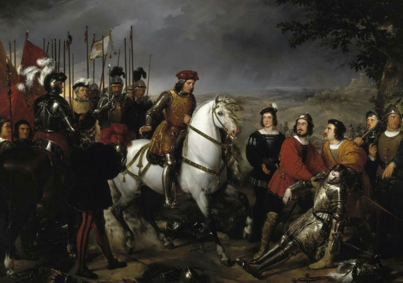 3-Мадрасо и Кунс Федерико де - Великий капитан Гонсало де Кордова после битвы при Чериньоле.jpg