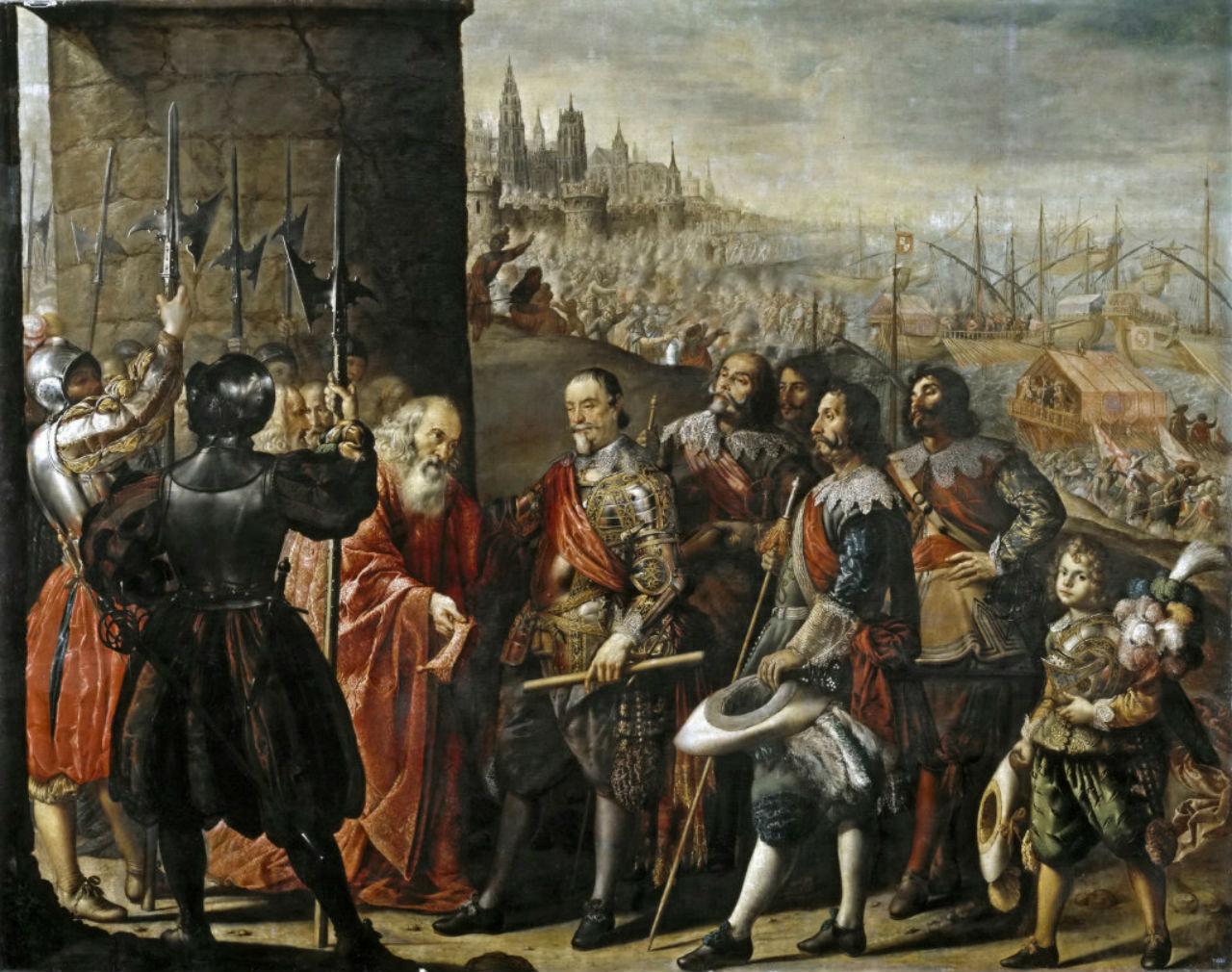 5-Переда и Сальгадо Антонио де - Сдача Генуи маркизу Санта Крус.jpg