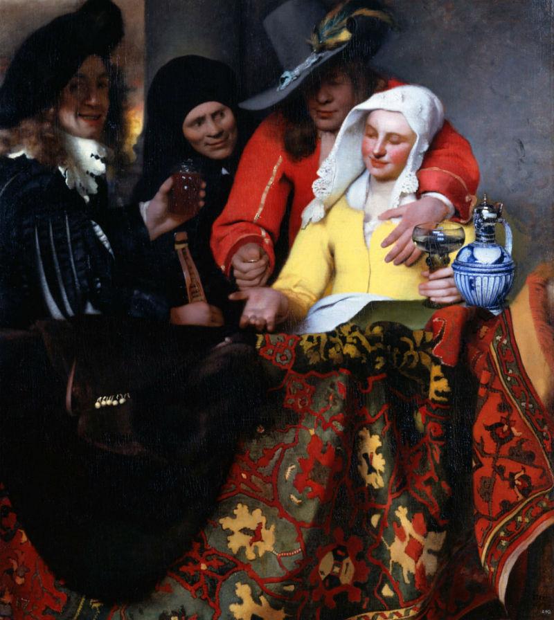 Ян Вермеер - Сводница - 1656.jpg