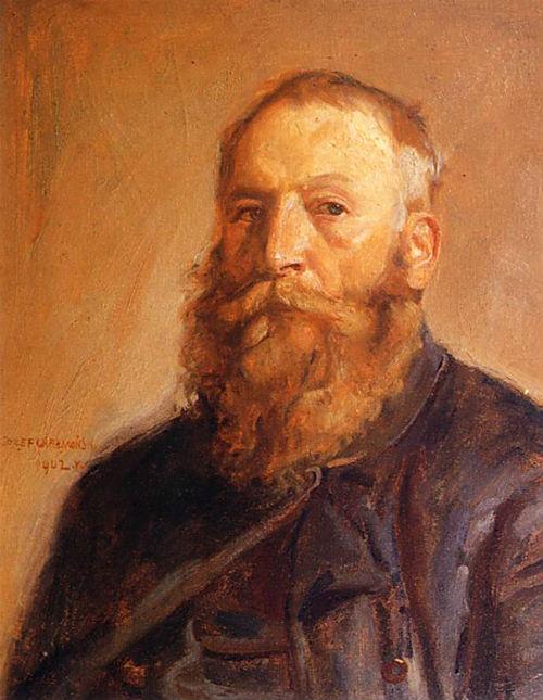 Chelmonski Jozef - Автопортрет - 1902.jpg