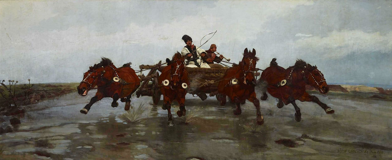Chelmonski Jozef - 1881 - Czworka.jpg