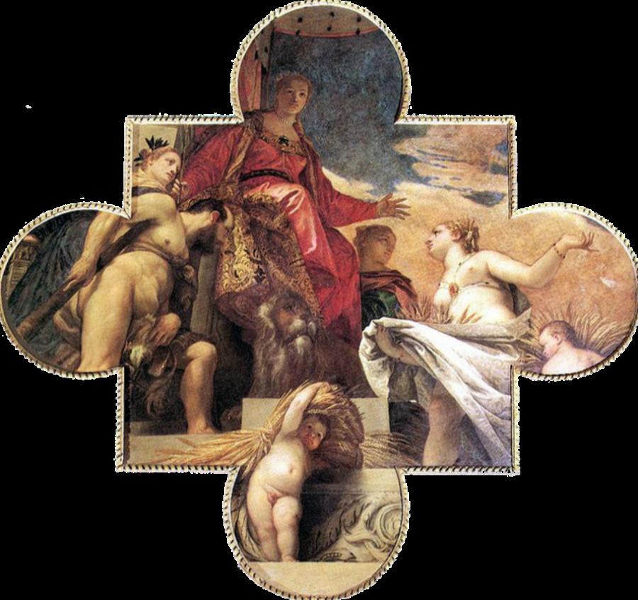 Паоло Веренезе - Церера выражает почтение Венеции - 1575.png