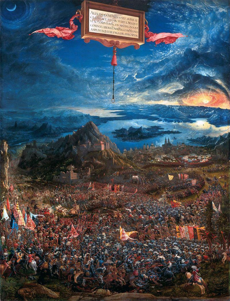 Альбрехт Альтдорфер - Битва Александра.jpg