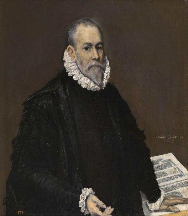 5-Эль Греко (Доменико Теотокопули) - Портрет доктора - 1588.jpg
