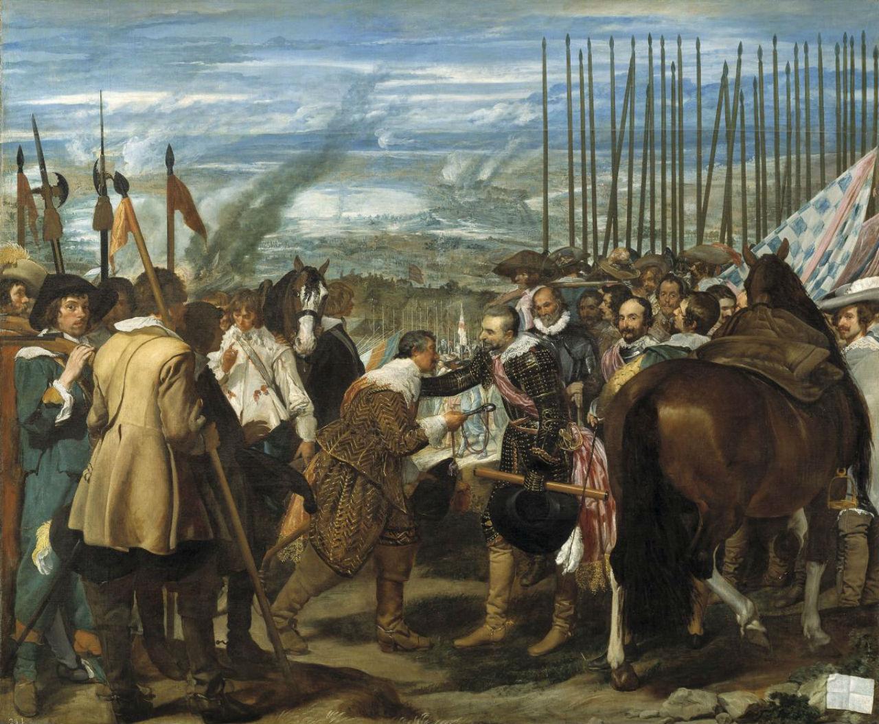 6-Диего Веласкес - Сдача Бреды - 1635.jpg