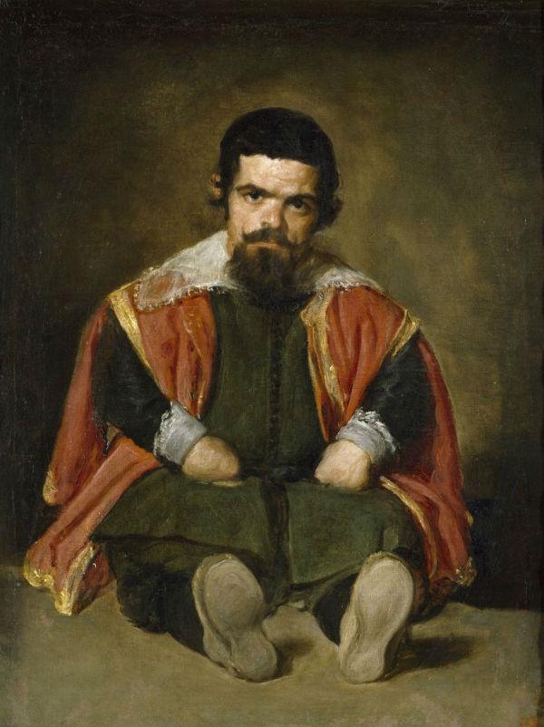 10-Диего Веласкес - Портрет придворного карлика дона Себастьяна дель Морра по прозвищу Эль Примо - 1644.jpg