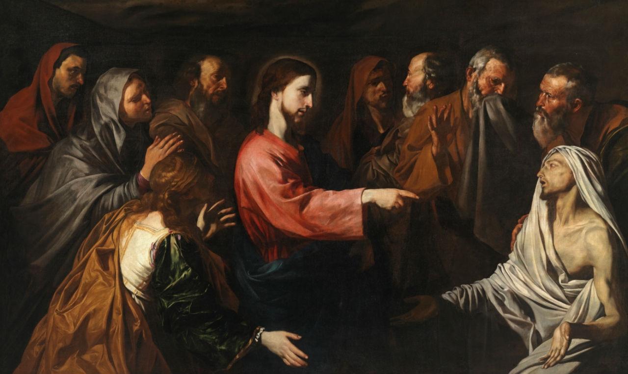 11-Джузепе де Рибера - Воскрешение Лазаря - 1616-е.jpg
