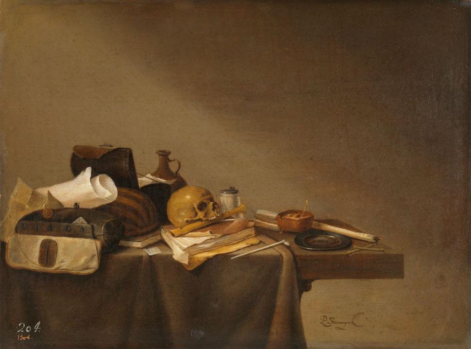 14-Питер ван Стенвейк - Эмблема смерти - 1640.jpg