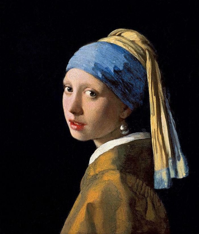 Ян Вермеер - Девушка с жемчужной серёжкой - около 1665 - Маурицхёйс - Гаага.jpg