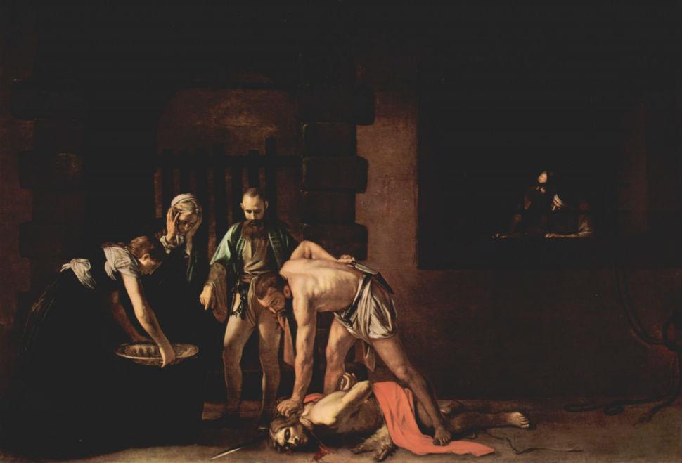 Живопись_Караваджо_Усекновение-главы-Иоанна-Предтечи-1608.jpg