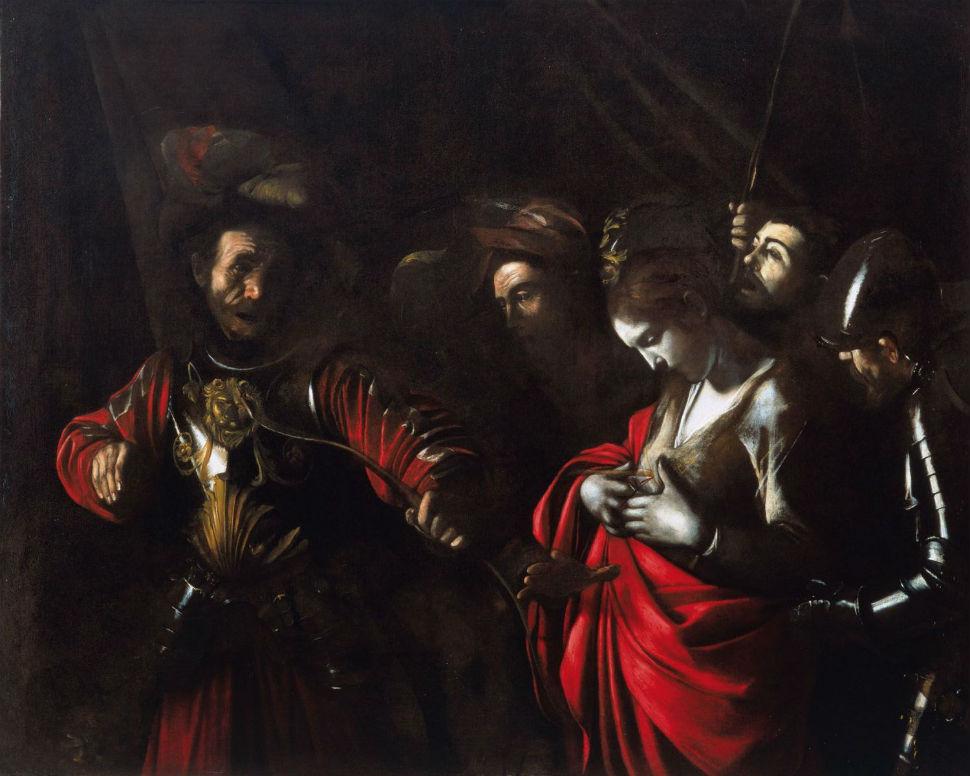Живопись_Караваджо_Мученичество-святой-Урсулы-1610.jpg