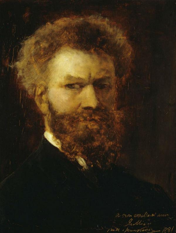 Михай Либ Мункачи - Автопортрет - 1881.jpg