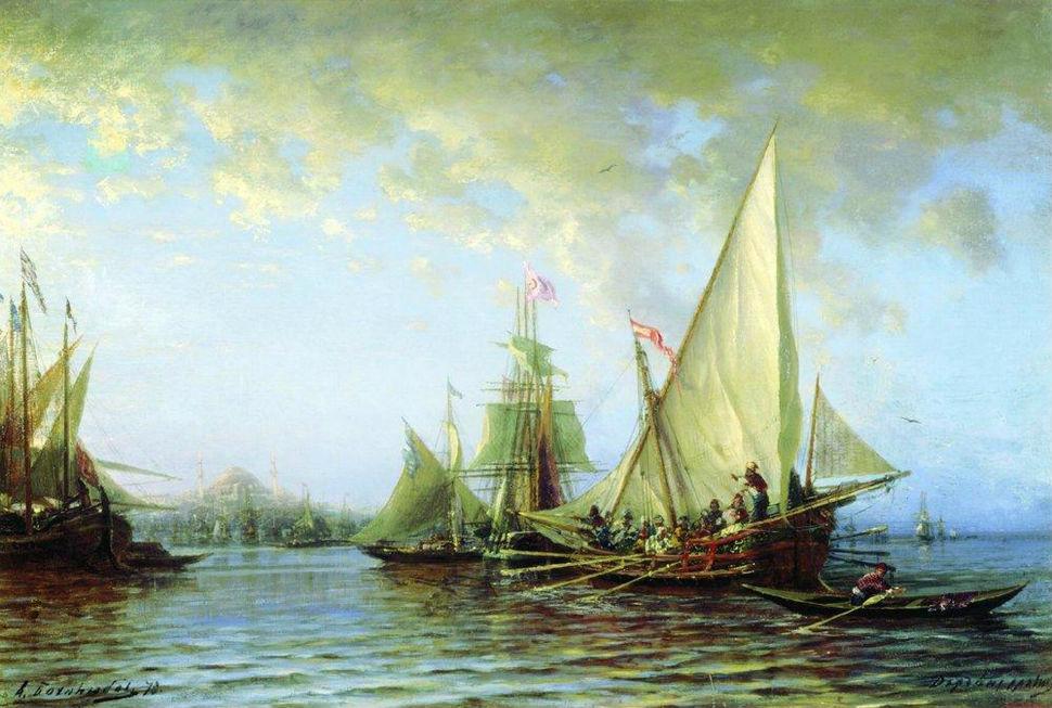 Алексей Боголюбов - Дарданеллы - 1873.jpg