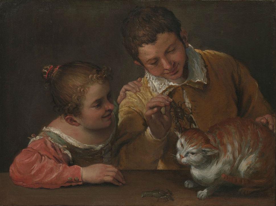 4-Живопись_Аннибале-Карраччи_Двое-детей-играют-с-котом-1590.jpg