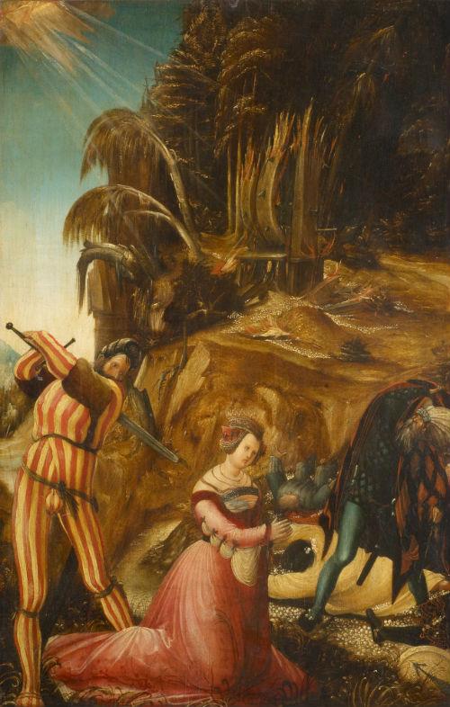 5-Альбрехт Альтдорфер - Обезглавливание св. Екатерины - 1506.jpg