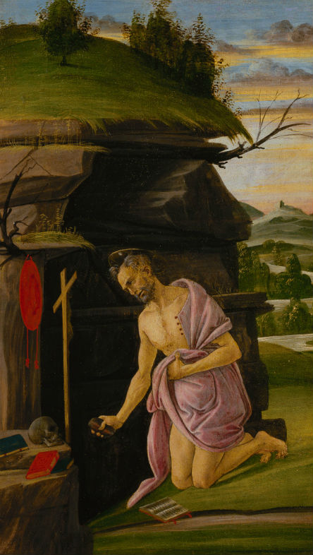 6-Сандро Боттичелли - Святой Иероним 1505.jpg