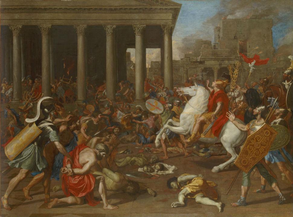 11-Никола Пуссен - Разрушение Титом иерусалимского храма - 1635.jpg