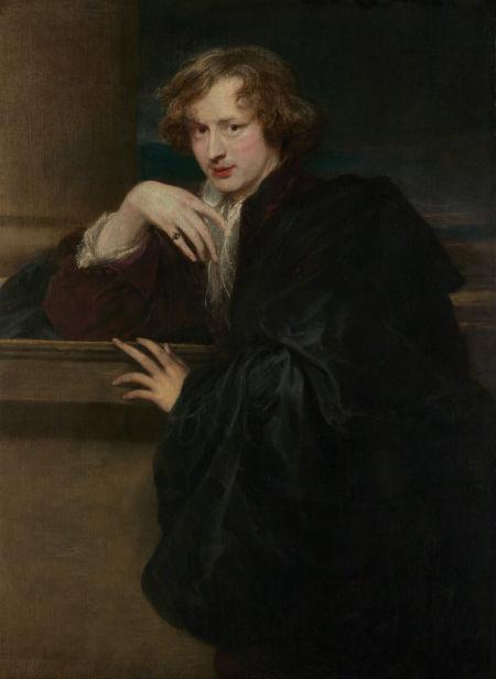 12-Антонис ван Дейк - Автопортрет - 1621.jpg