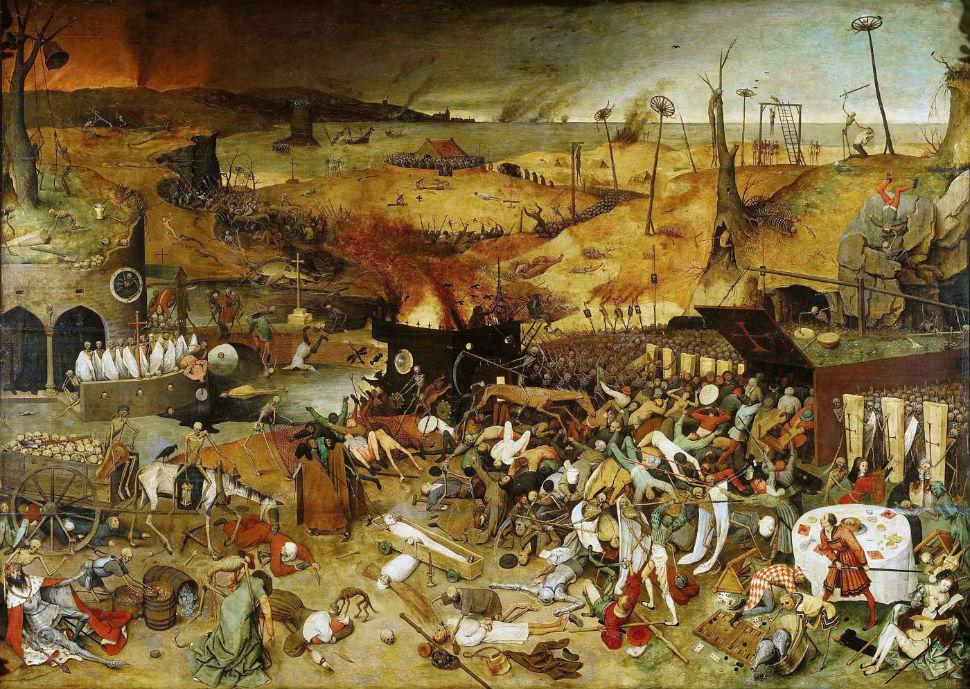 2-Питер Брейгель Старший - Триумф смерти - 1563.jpg