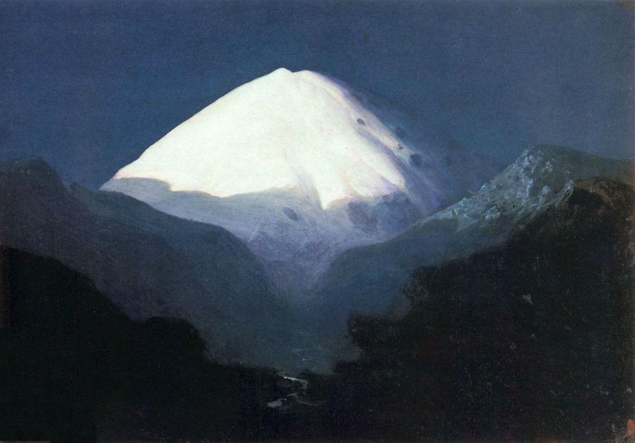 2-Эльбрус - Лунная ночь - 1890-е году - ГТГ.jpg