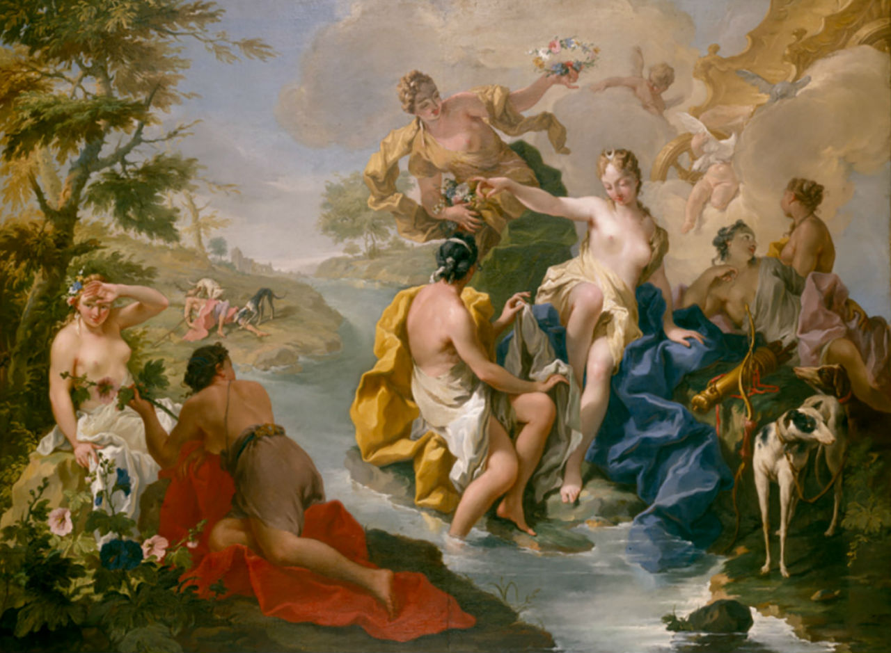 6-Джамбаттиста Питтони 1720-е - Диана и нимфы.jpg