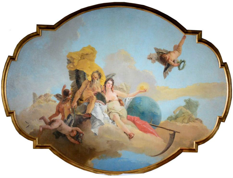 7-Тьеполо - Время открывающее Истину - 1745.jpg