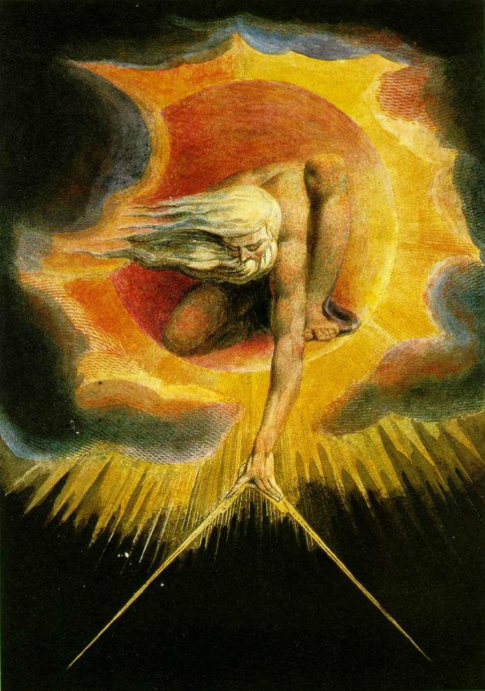 5-Уильям Блейк - Творец вселенной - Фронтиспис к поэме «Европа пророчество»  - 1794.jpg