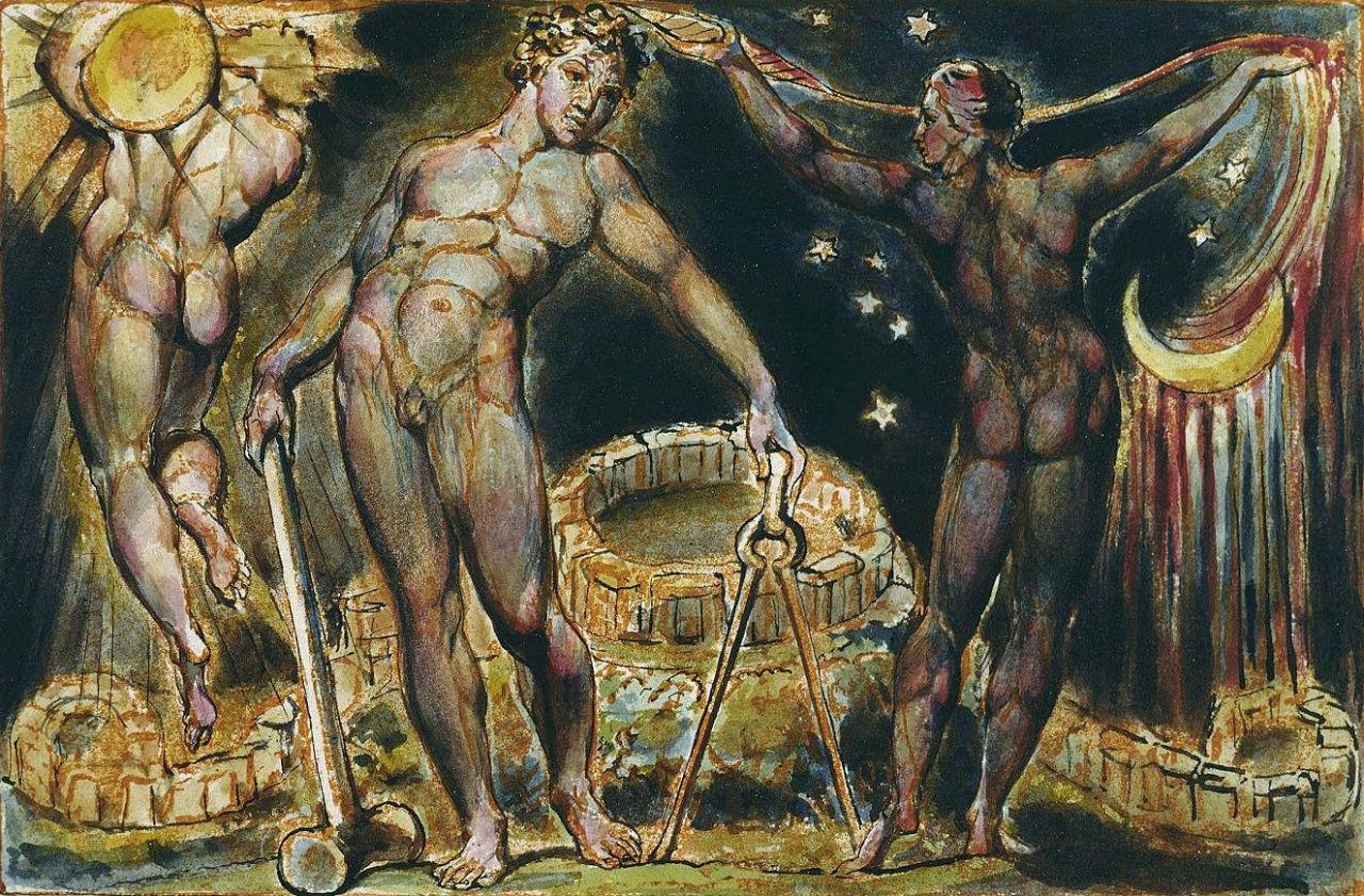 9-Уильям Блейк - Лос и Энитармон. Иерусалим  эманации Великого Альбиона - 1820.jpg