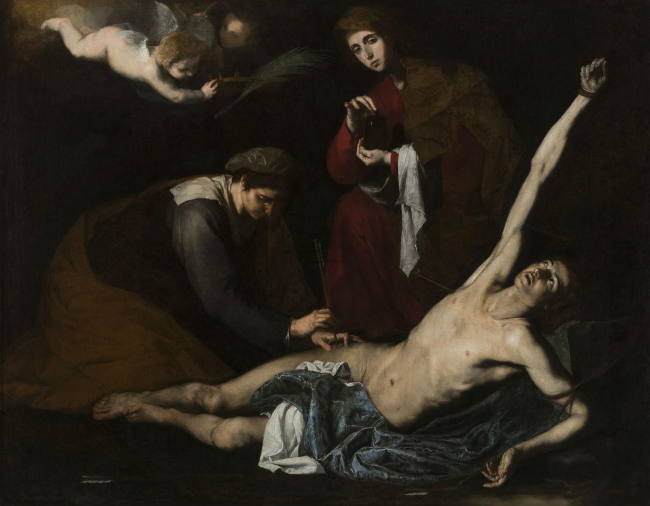 3-Святые женщины склоняются над святым Себастьяном - 1623.jpg