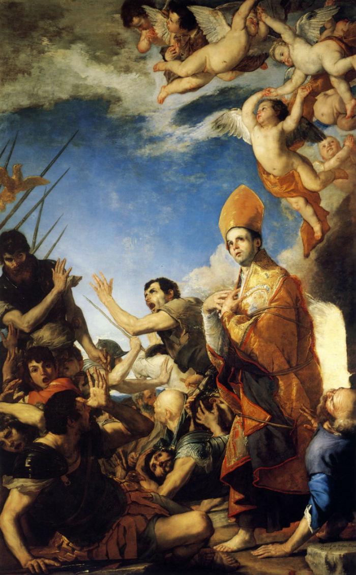 4-Святой Януарий выходящий из огненной печи - 1641.jpg